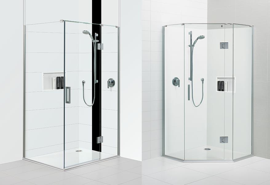Black Pearl™ Acrylic Shower Stunning Acrylic Shower System Featuring  Frameless Screens U003e