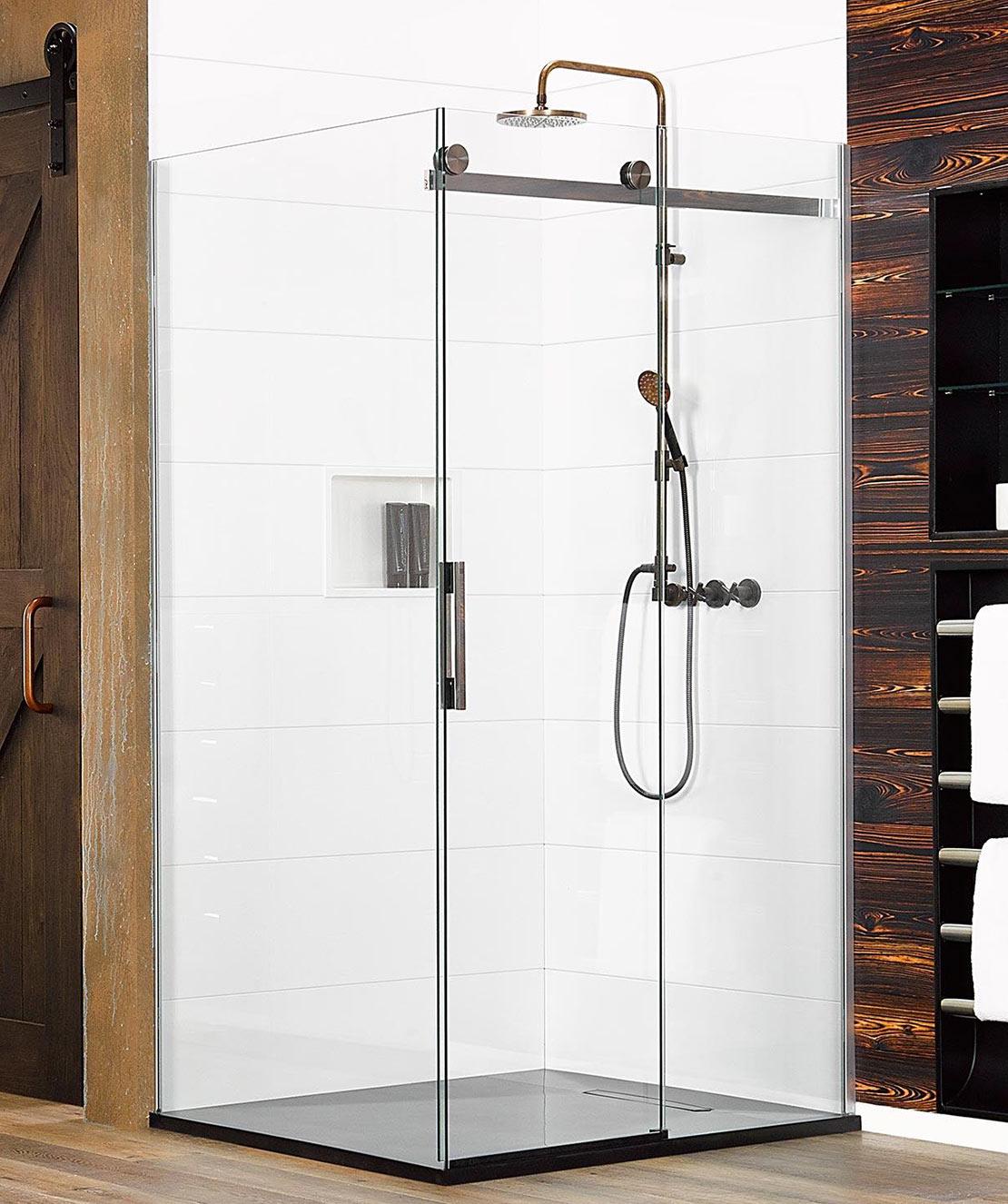 Ebony Amp Ivory Prefinished Black Or White Shower Base