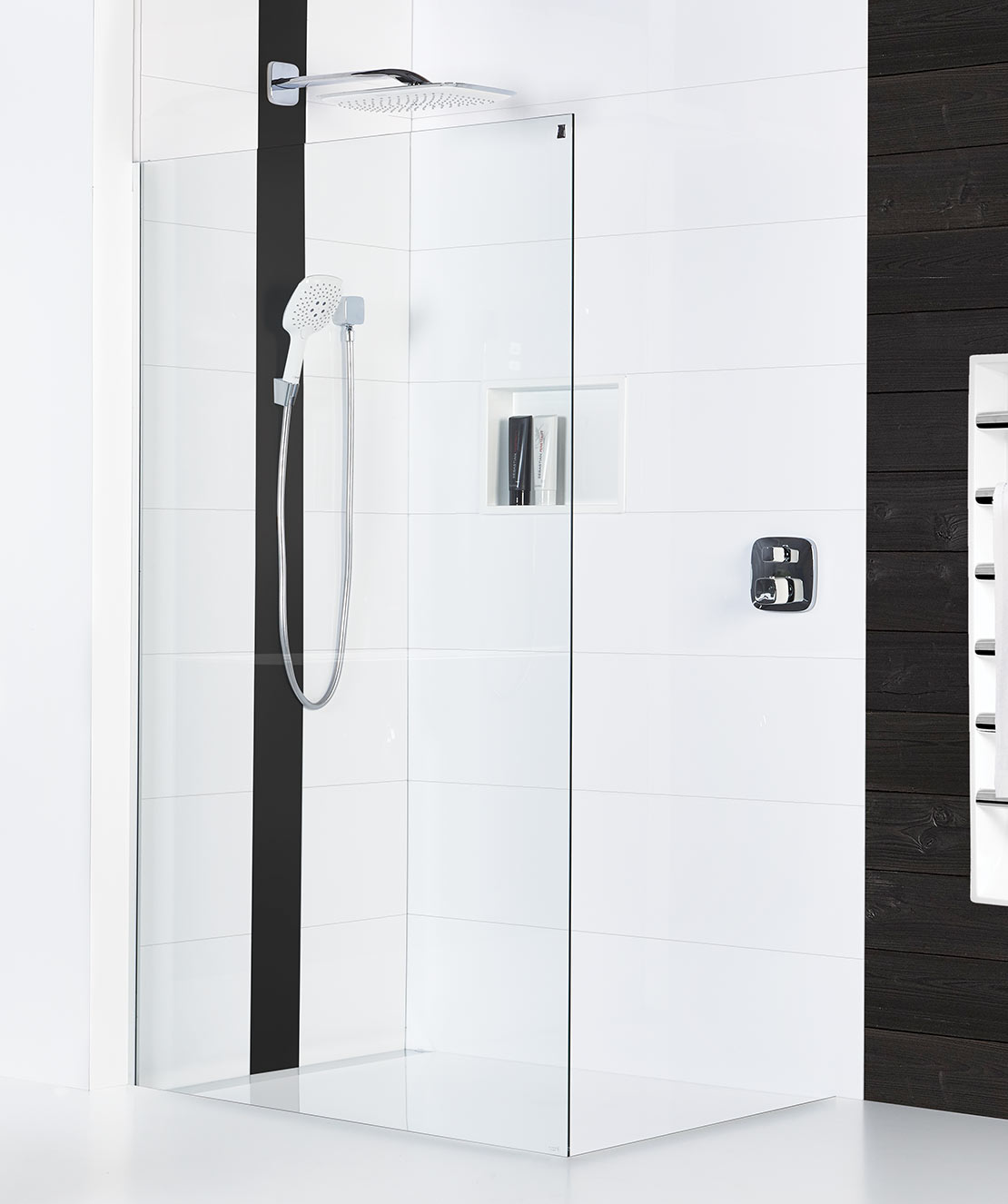 Ellure Tile Look Shower Walls Atlantis Bathroom Style